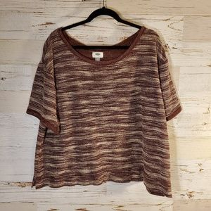Old Navy short sleeve sweater top